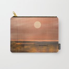 Boats in the fog Carry-All Pouch