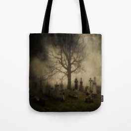 Unsettling Fog Tote Bag