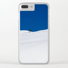 Lake Tahoe in Winter. USA Clear iPhone Case