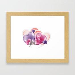 Liebesgruß Framed Art Print