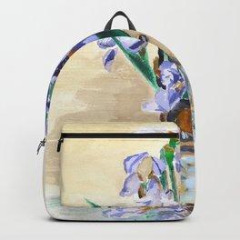 KargacinArt - Flowers in a Vase - Original Watercolor Painting Backpack
