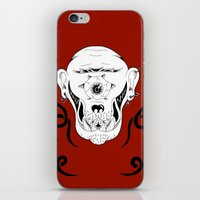 cyclops iPhone & iPod Skins featuring Cyclops by Jorge Daszkal