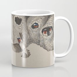 Cliff Swallow Nests Coffee Mug