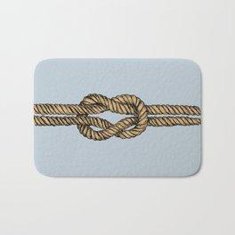 Nautical Boat Knot Bath Mat