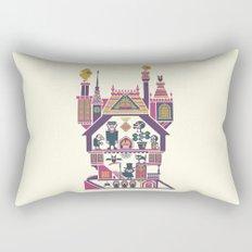 House Of Freaks Rectangular Pillow