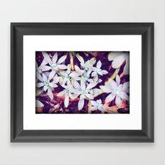 Crystal Cluster Framed Art Print