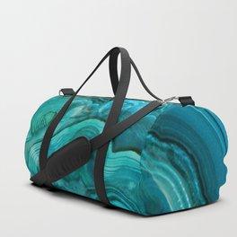 malachite abalone Duffle Bag