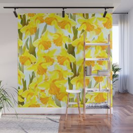 Spring Breeze With Yellow Flowers #decor #society6 #buyart Wall Mural