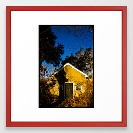 Spring House Framed Art Print