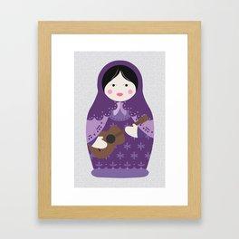 Matryoshka Solo Artist Framed Art Print