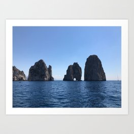 Tunnel of Love, Capri Art Print