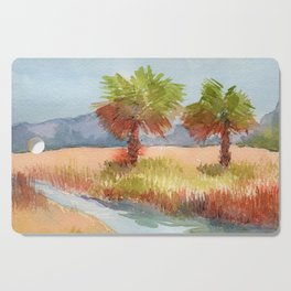 Ranch Palms Cutting Board