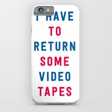 American Psycho - I have to return some video tapes iPhone 6s Slim Case