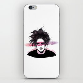 Robert Smith iPhone Skin