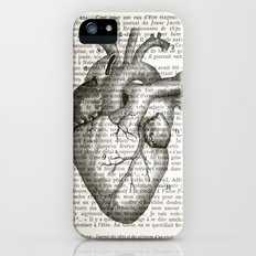 Anatomical Heart on French iPhone (5, 5s) Slim Case