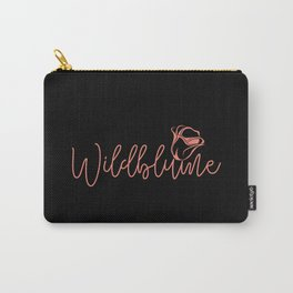 Wildflower 1 Carry-All Pouch