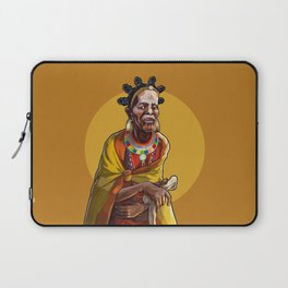Masai Witch Doctor Laptop Sleeve