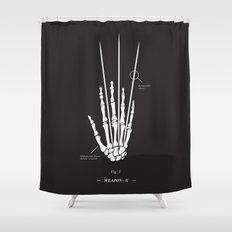 Weapon-X Shower Curtain