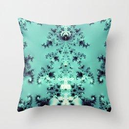 Vintage Blue Throw Pillow