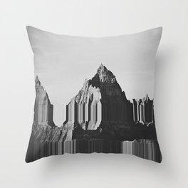 ms mountains Throw Pillow