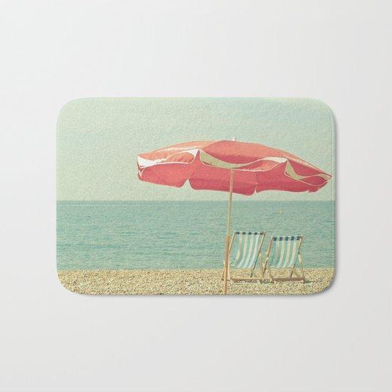 Deserted Beach Bath Mat