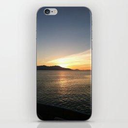 Sunrise over Water iPhone Skin
