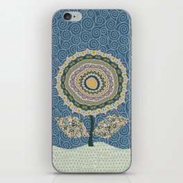 Fabby Flower-Mineral colors iPhone Skin