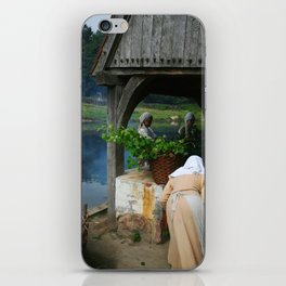 Viking market iPhone Skin
