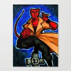 FanArt of my favorite little big devil... Canvas Print