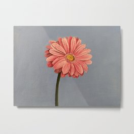 Flower and dew: Pink Flower Metal Print
