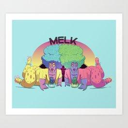 Melk - Nogland's Best Art Print
