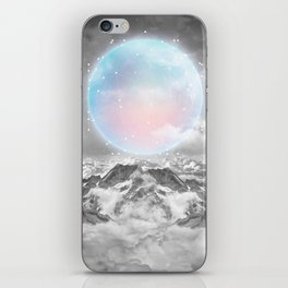 Places Neither Here Nor There (Guardian Moon) iPhone Skin