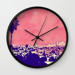 LA 001 Wall Clock