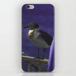 Purple Perception iPhone Skin