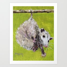 awesome possum Art Print