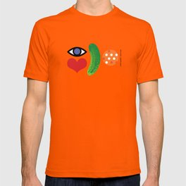 Eye Love Pickleball Rebus #2 T-shirt