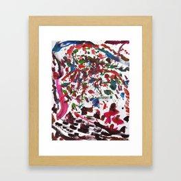 Because beatle PRINT Framed Art Print