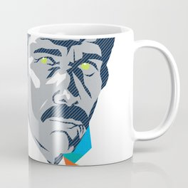 MARTY :: Memphis Design :: Miami Vice Series Coffee Mug