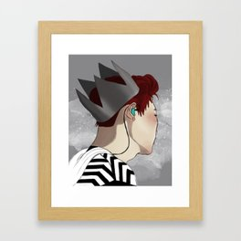 Park Chanyeol - Exoplanet Framed Art Print