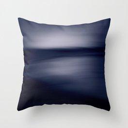 Mood Indigo Throw Pillow