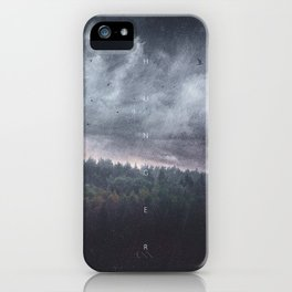 The hunger iPhone Case