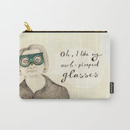 I Like My Owl-Pimped Glasses Carry-All Pouch