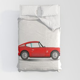 Sports Car Coupe Comforters