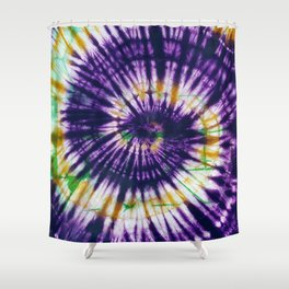 Tie Dye Purple Play Shower Curtain