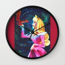 Princess Aurora Van Gogh Wall Clock