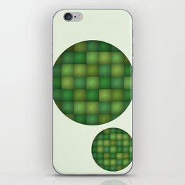 Secret Green iPhone Skin