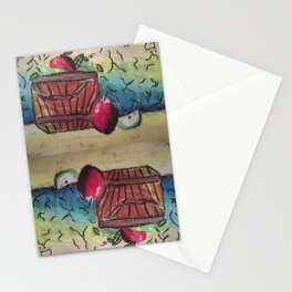 Basket of Apples Stationery Cards