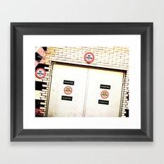 The Door 13 Framed Art Print