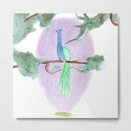 Peacock Prime Metal Print