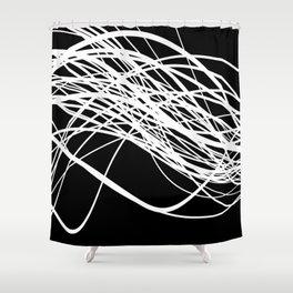 Linear Flow Shower Curtain